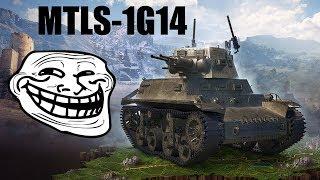 MTLS-1G14 - moja pierwsza bitwa :)