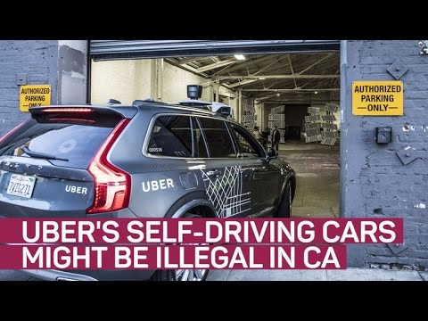 CNET News - California DMV tells Uber to stop its self-driving cars