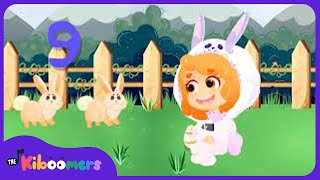 Easter Bunny Song | Ten Easter Bunnies | Easter Songs For Kids | The Kiboomers