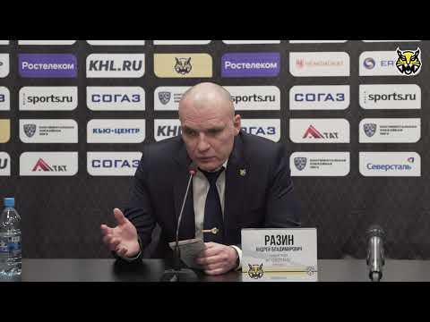 Андрей Разин подвёл итоги сезона 20192020 для ХК Северсталь