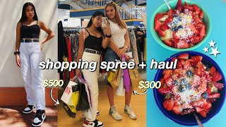 HUGE shopping spree in the city & haul