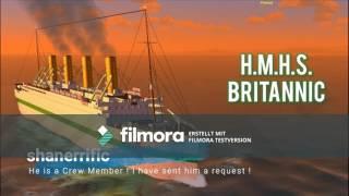 Roblox Britannic Film | Infos