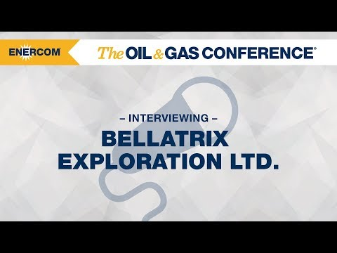 Bellatrix Exploration Ltd. CEO Brent Eshleman at EnerCom's The Oil & Gas Conference® 2017