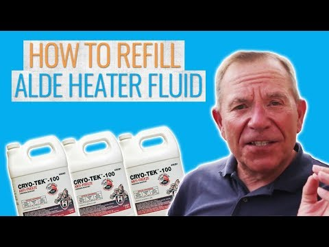 How to Replace the Fluid in Alde RV Heaters