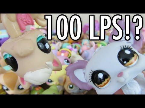 UNBOXING 100 LPS LITTLEST PET SHOP PACKAGE!