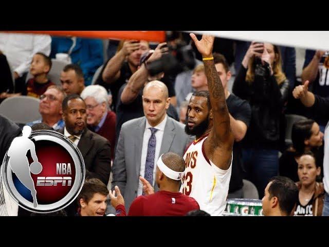 LeBron James' 30,000th career point | ESPN