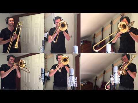 Jump (Van Halen trombone cover by Nick La Riviere)