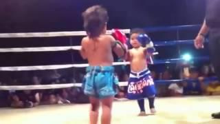 Muay Thai Kid 2 Year Old
