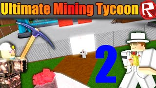 [ROBLOX: Ultimate Mining Tycoon] - Lets Play Ep 2 - Building Our Mineshaft!