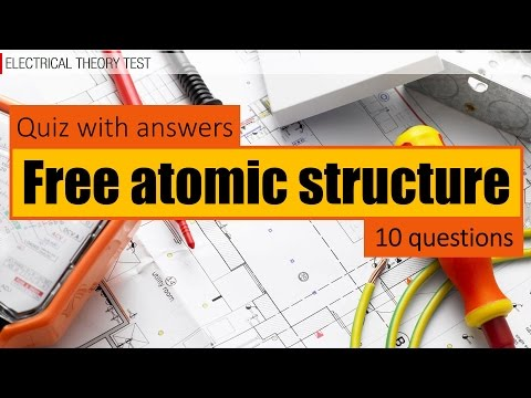 Free atomic structure quiz with answers