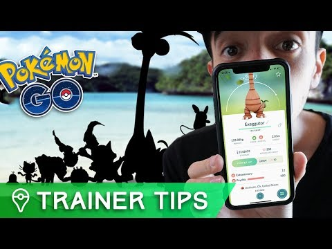 NEW ALOLAN POKÉMON FORMS COMING TO POKÉMON GO!