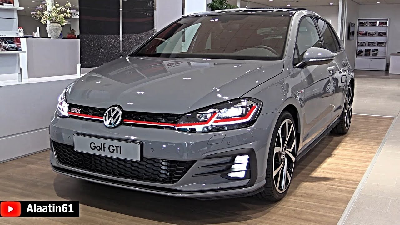 volkswagen golf gti 2019 new full review interior. Black Bedroom Furniture Sets. Home Design Ideas