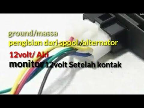 Kiprok tiger pin soket (electrical regulator) HONDA tiger ... on