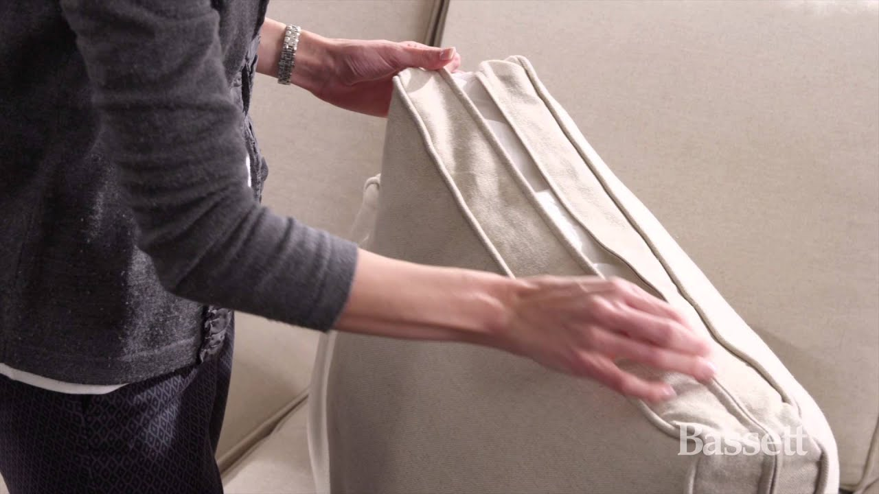 how to flip and fluff your sofa cushions by bassett furniture - How To Flip Furniture
