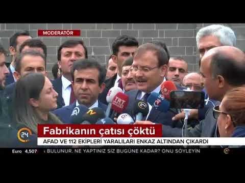 Bursa'da buhar kazanı bomba gibi...