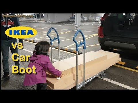 IKEA Large Flat Pack Furniture vs Car Boot, Will it Fit Funny? Sheffield