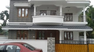 Cute Beautiful House Design | House Interior | Home | Modern House For Sale 5.38cent 2450sqft 4bhk