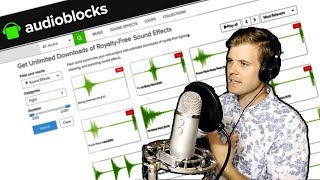 Video Making Music with AudioBlocks.com Royalty Free Sound Effects download MP3, 3GP, MP4, WEBM, AVI, FLV September 2018