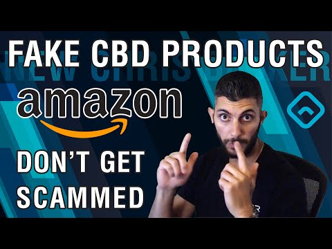 Fake CBD Oil Products on Amazon Exposed!