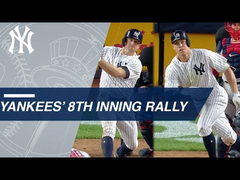 Yankees rally off Kimbrel in the 8th to take the lead