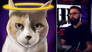 Mike Makes His Debut on the 'Creationist Cat Chat' Talk Show