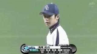 中日 浅尾拓也  無死満塁1点差   (2011/9/1) thumbnail