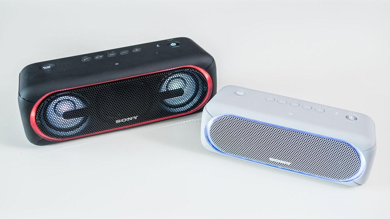 Sony SRS-XB30 & XB40 - sound analysis & résumé - YouTube