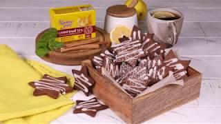 Как приготовить рождественское шоколадное печенье: видео рецепт