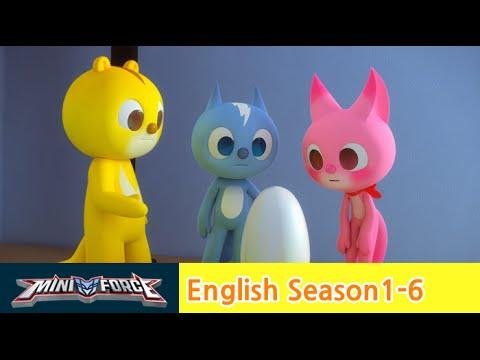 English Ver Dub Miniforce Season1 Ep 6 Mini Force And Baby Iguana