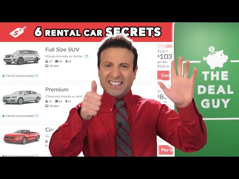 6 CAR RENTAL SECRETS HERTZ, BUDGET & ENTERPRISE Don't Want You to Know! (2020 UPDATED)