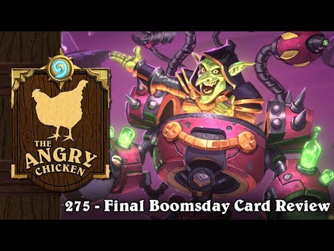 """#275 - The Angry Chicken: """"Final Boomsday Card Review"""""""
