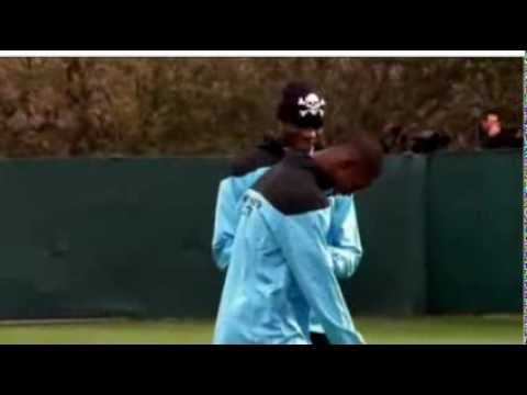 Balotelli - If you throw a banana at me, I will kill you!