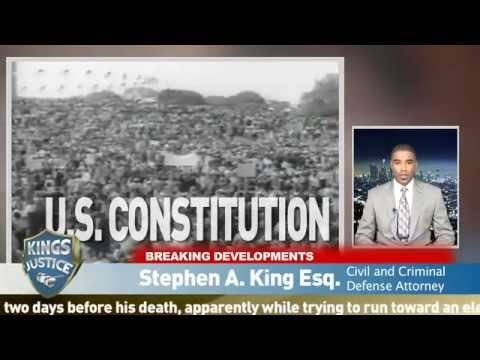 civil rights attorney los angeles: POLICE BRUTALITY | Stephen A. King | LegalEase TV