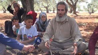 كيف يعيش سوريون في حقول الزيتون
