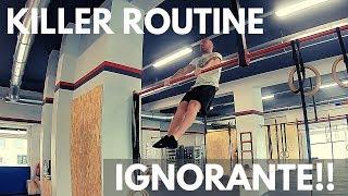 Calisthenics Killer Routine a fine allenamento - Provala!!!