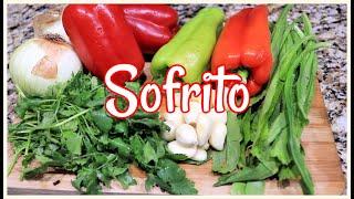 Cómo hacer Sofrito casero {How to make Sofrito}