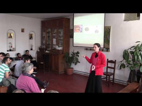 "Elena Blanaru (biolog) - Despre evolutie (2014.02.09, Biserica ""Sfintii Chiril si Metodiu"")"