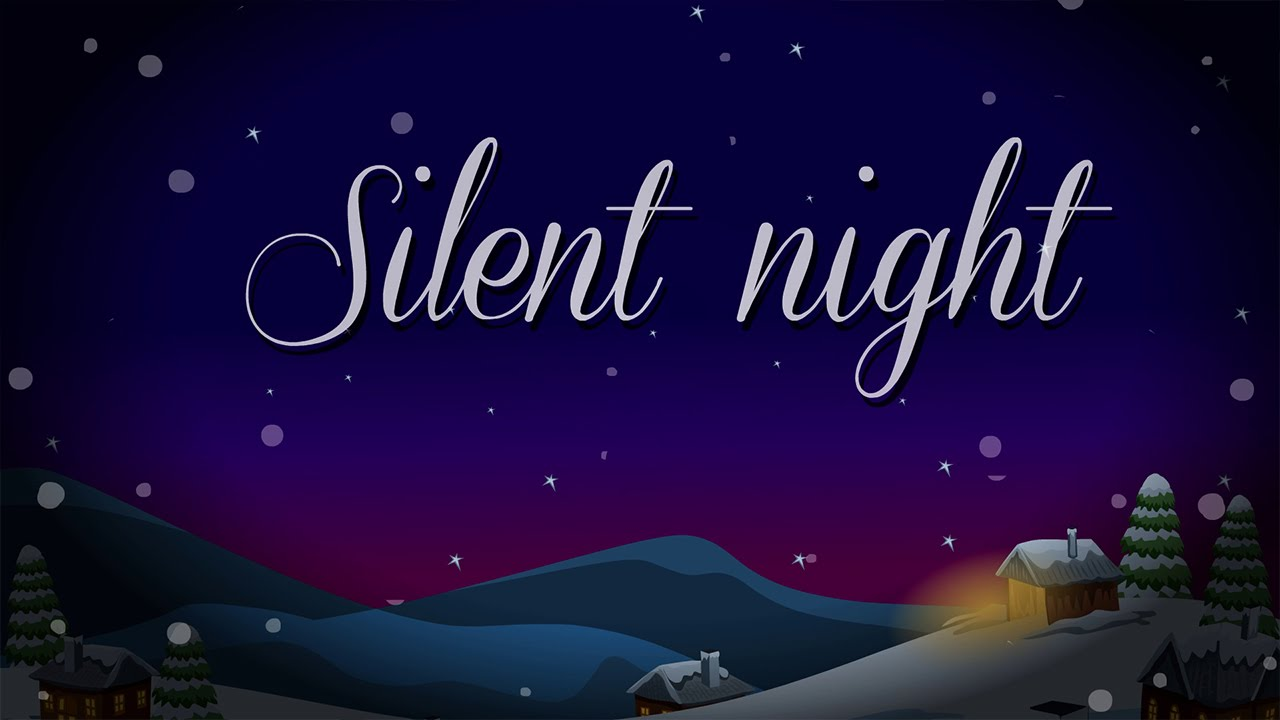 graphic regarding Silent Night Lyrics Printable referred to as Quiet Evening Holy Night time Music With Lyrics