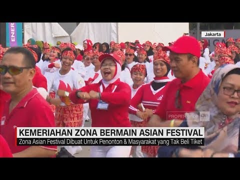 Kemeriahan Zona Bermain Asian Games 2018   CNN ID Update