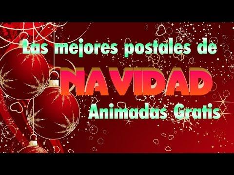 Las Mejores Postales De Navidad Animadas Gratis Youtube - Postales-para-navidad-personalizadas