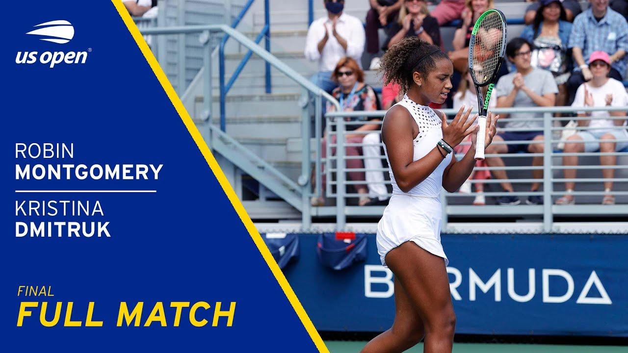Robin Montgomery vs Kristina Dmitruk Full Match | 2021 US Open Final