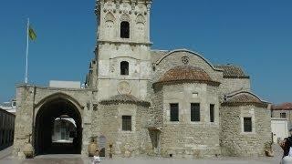 Церковь Святого Лазаря. Кипр.(Ларнака.Май 2014.The Church Of Saint Lazarus. Cyprus. Церковь названа в честь праведного Лазаря из Вифании, которого, согласно..., 2014-06-24T15:29:25.000Z)