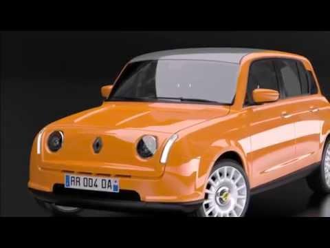 New Renault 4L 2018 !!!
