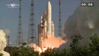 Décollage Ariane 5 vol 215 - 29/08/2013