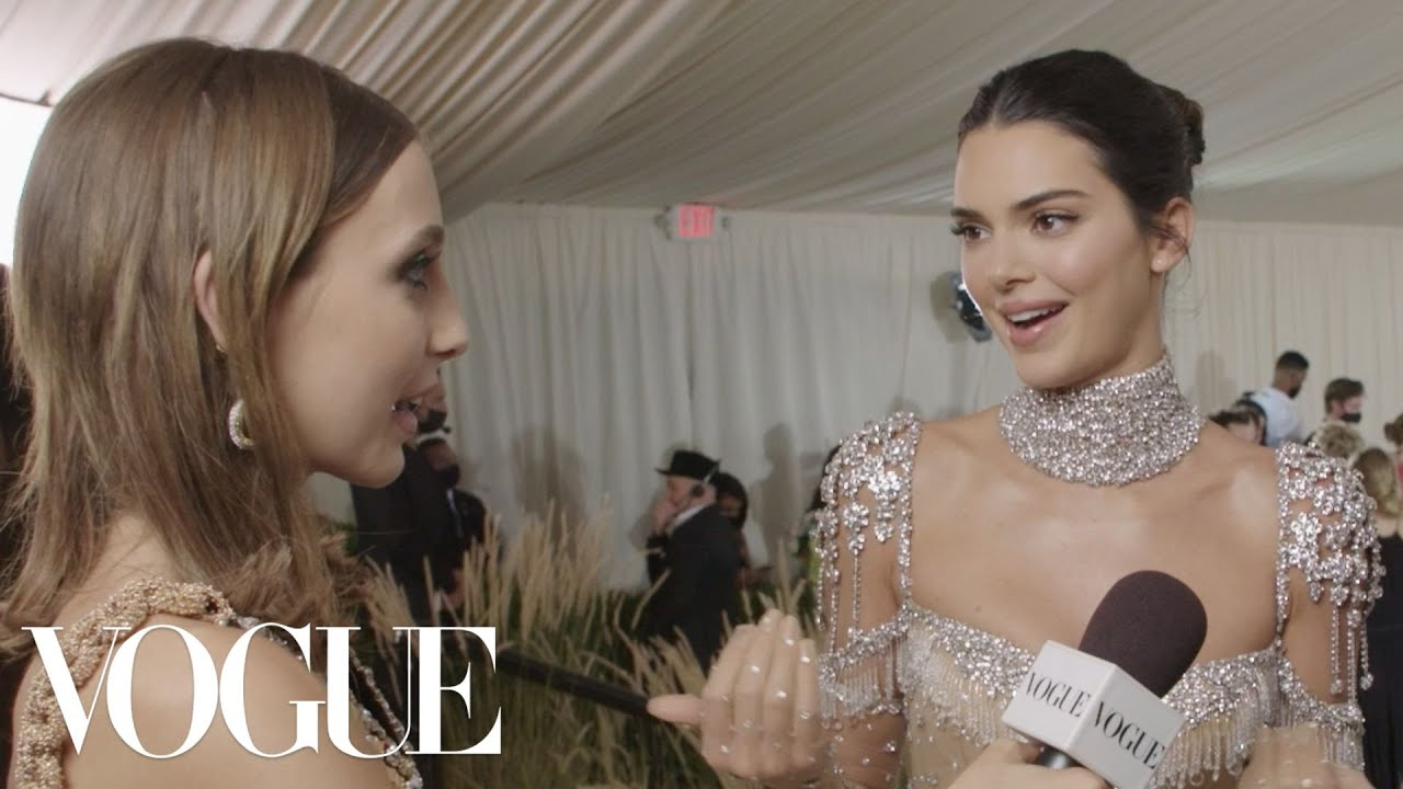 Kendall Jenner on Her Classic Hollywood-Inspired Look | Met Gala 2021 With Emma Chamberlain | Vogue