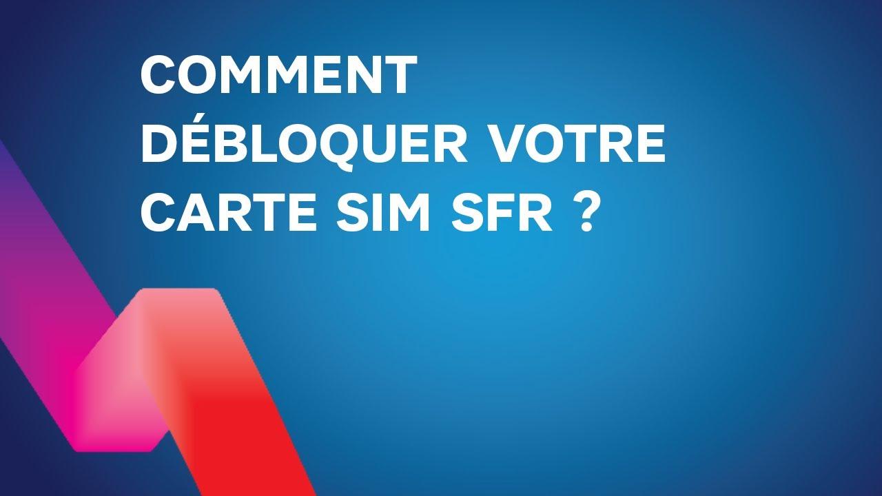 carte sim verrouillée sfr Comment débloquer ma carte SIM SFR   YouTube