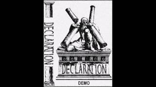 DECLARATION - Demo [ALLEMAGNE - 2017]