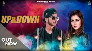 UP & DOWN (OFFICIAL VIDEO) | SB RAPPER | SANJANA KHANNA | NEW PUNJABI HIT SONG 2018