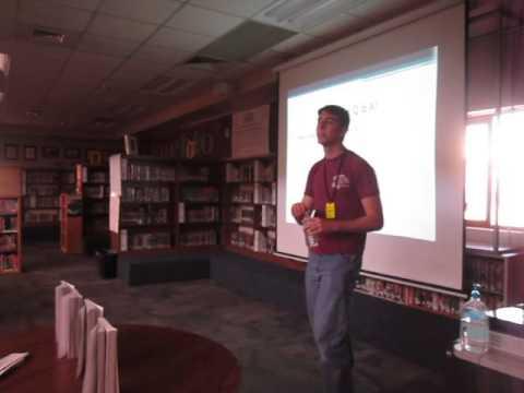 Kyrene del Pueblo Middle School Author Visit 1-29-16 Part 8