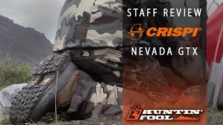 HF Review : Crispi Nevada GTX Boots